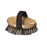 Generic bristle brush tan in color with handle