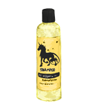 Sparkling yellow unicorn shampoo
