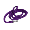 Coiled purple leash