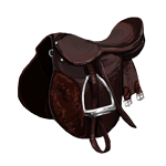 Brown English Saddle
